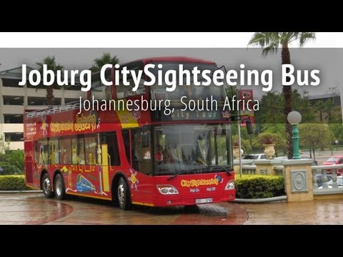 Joburg CitySightseeing Bus - Johannesburg, South Africa
