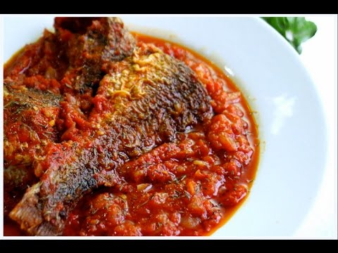 EASY FISH STEW RECIPE!