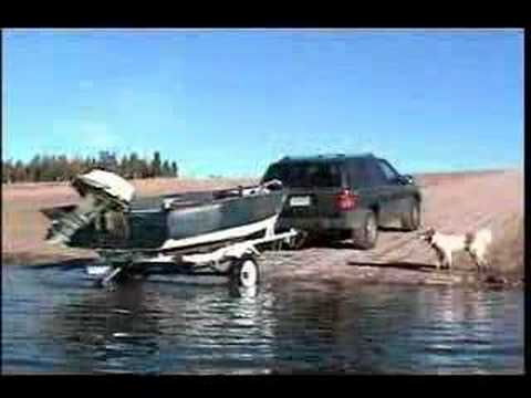 Constructing Lake Granby Boat Ramp