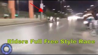 Big Race After Babu 70 Death On Shahrah Faisal New Track Timmy Win Rider Kaka Team Babu 70  Win