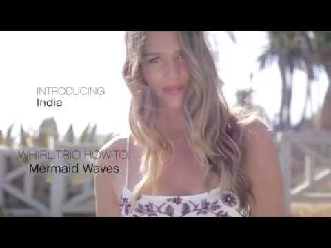 How to Get Beachy, Mermaid Waves with the T3 Whirl Trio Interchangeable Styling Wand   Sephora