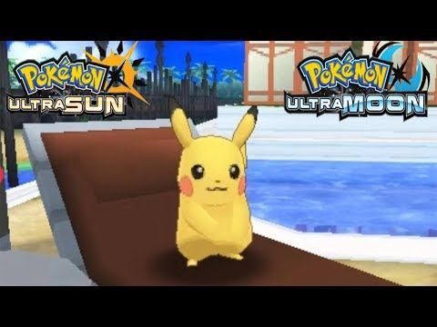 Pokemon Ultra Sun and Ultra Moon - Pikachu Event (Pikachu Z Crystal)