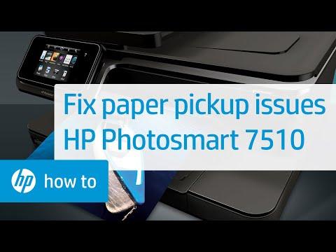 Fixing A Paper Jam Hp Photosmart 7510 E All In One Printer C311a