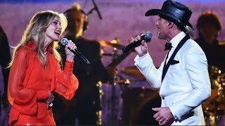 Tim McGraw, Faith Hill Stun With 'The Rest of Our Life' at CMAs