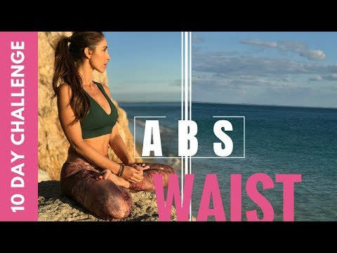 Lose Belly Fat in 10 days  Abs and Waist Workout Challenge
