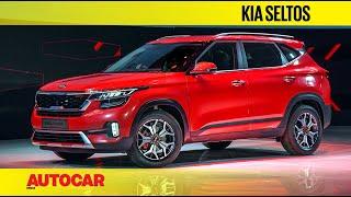Kia Seltos India | First Look and Walkaround | Autocar India