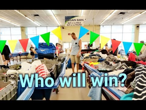 Goodwill Bins Challenge - husband & wife thrift haul for ebay inventory