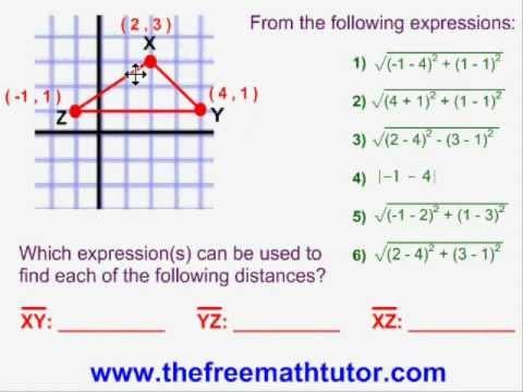 A Distance Formula Question