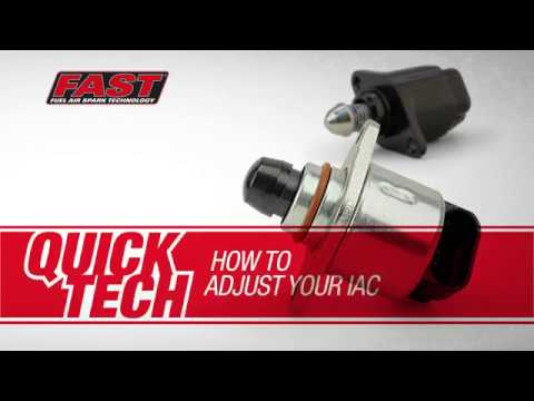 FAST Quick Tech: How to Adjust Your IAC