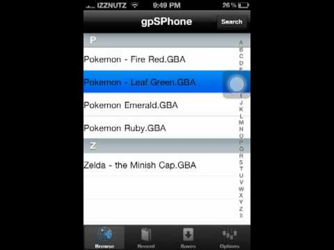 How To Get The Gameboy Advance Emulator For IPhone ipodtouch