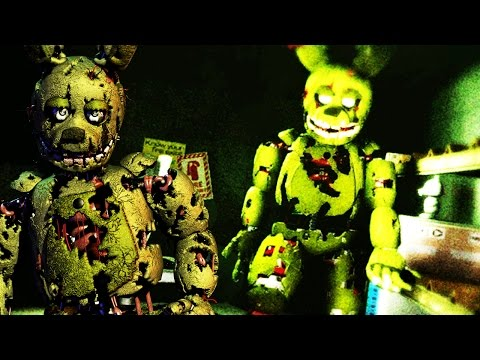 3D SPRINGTRAP ATTACKS! | The Shift at Fazbear's Fright (FNAF 3 IN 3D!) -  playithub com