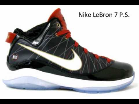 My top 10 best basketball shoes