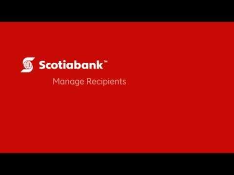 Manage Recipients
