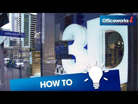 Experience 3D printing at Officeworks Melbourne