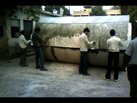 FRP TANK MAKING BY SHREYA POLYMERS PRIVATE LIMITED,