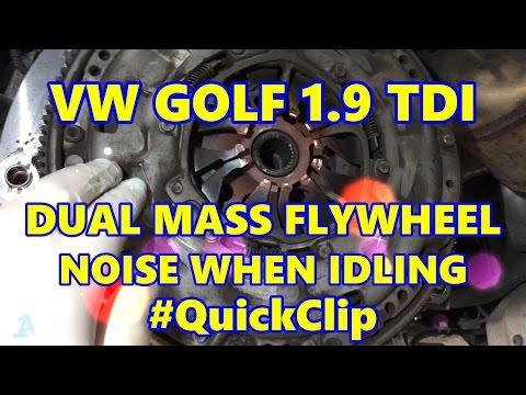 VW Golf 1.9 TDI MK5 Dual Mass Flywheel Rattle #QuickClip