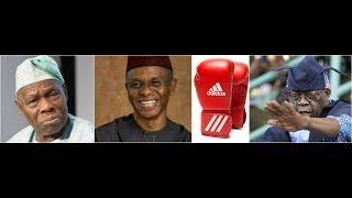 Tinubu Sweats As Obasanjo Anoints El-Rufai Re: 2023 Presidency