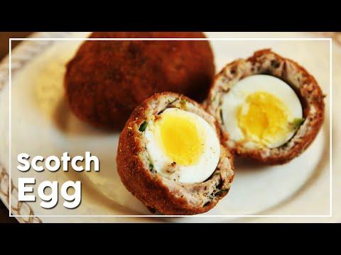 Scotch Eggs | Egg Recipe | Crispy Mince Wrapped Soft Boiled Egg | Nick Saraf's Foodlog