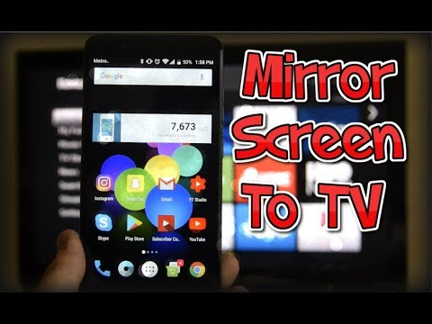ZTE Blade Zmax | How to Mirror Your Screen to a TV