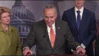 WATCH LIVE Schumer Speaks To Reporters As Debate Rages Over Calling Witnesses In Impeachment Trial