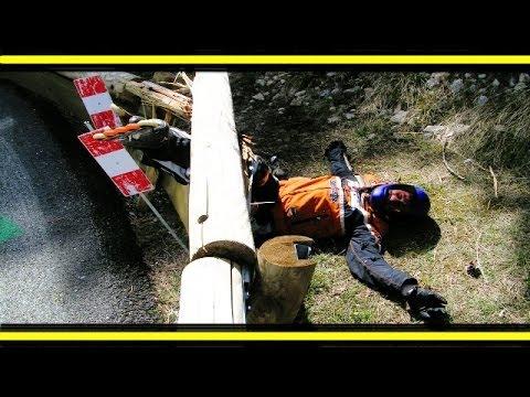Descente de l'alpe d'huez en roller. Plus rapide de n'importe quel cyclisme !!