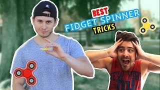 Download BEST FIDGET SPINNER TRICKS EVER!!! Video