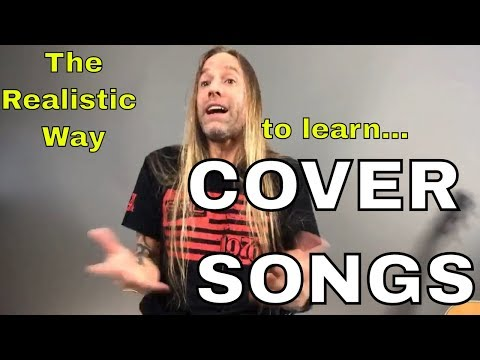 Steve Stine Live - How Do You Approach Learning Cover Songs - The Real (Interactive) Discussion