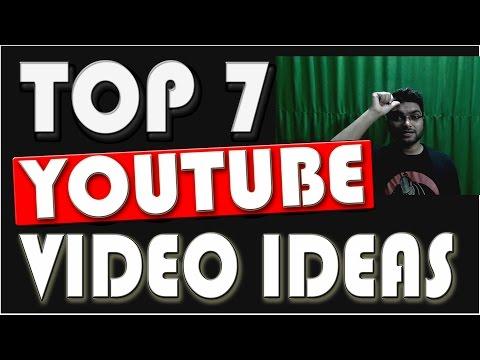 Top 7 Youtube Video Ideas || 2017 || Urdu/Hindi