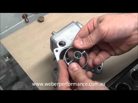 45 DCOE 13 Weber Assembly - Part 2