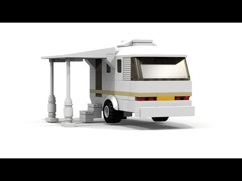 LEGO Camping Trailer MOC Tutorial