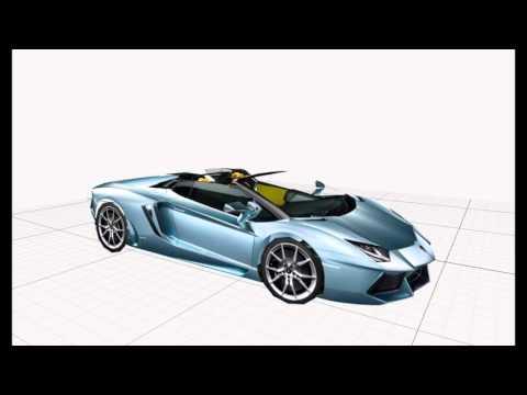 Papercraft4 3D - Lamborghini Aventador paper model from 4 photos [ imovie trailer ]