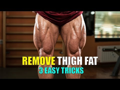 THIGH FAT (थाई फैट)- 3 realistic ways to lose thigh fat & 3 specific EXERCISES (MEN- WOMEN)
