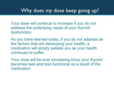 Why Your Doctor Can't Get Your Thyroid Medication Right