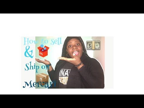 How to sell and ship on mercari || Amirababyy!! ||