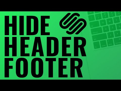 How to Hide the Header, Pre-Footer, and Footer in Squarespace (2018)