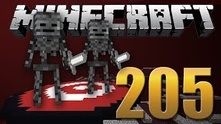 FINALMENTE ELES CHEGARAM! - Minecraft Em busca da casa automática #205.