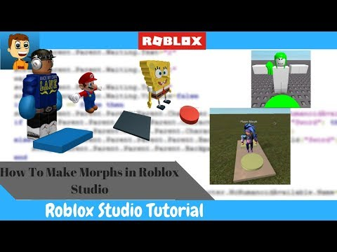 How To Make Morphs In Roblox!