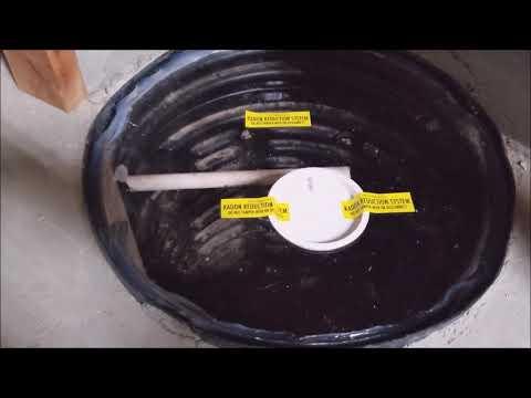 Radon Mitigation Install