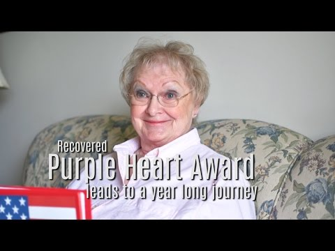 When patriotism meets persistence — Purple Heart Award recovered