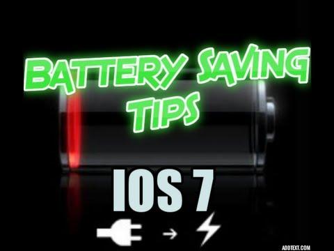 IOS 7 Battery Saving Tips - Apple Iphone
