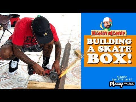 BUILDING A SKATE BOX!