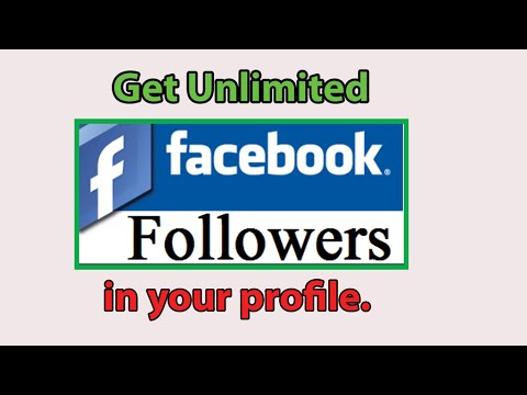 How to get unlimited followers on facebook profile | Auto Follower in facebook 2016.
