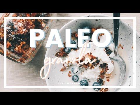 PALEO GRANOLA | Dairy, Gluten + Grain Free