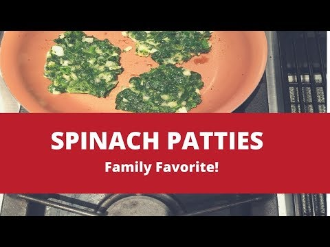 How to Make Spinach Patties | Healthy Easy Recipes