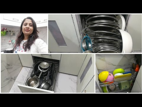 Small space Utensils Organization | Indian middle class kitchen