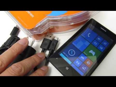 Nokia Lumia 520 - Unboxing and No Activation Setup AT&T GoPhone