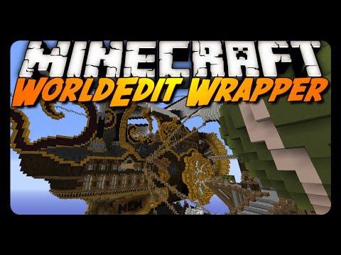Minecraft: WORLDEDIT IN SINGLE PLAYER! (WorldEditWrapper Mod)