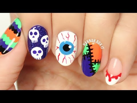 5 Fun Halloween Nail Art Ideas #2!