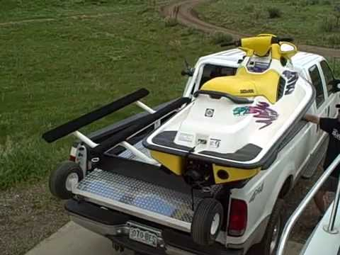 Loading your Wave Runner the EASY way - Elevation Trailers