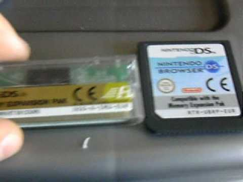 Tutoriel Nintendo ds Browser